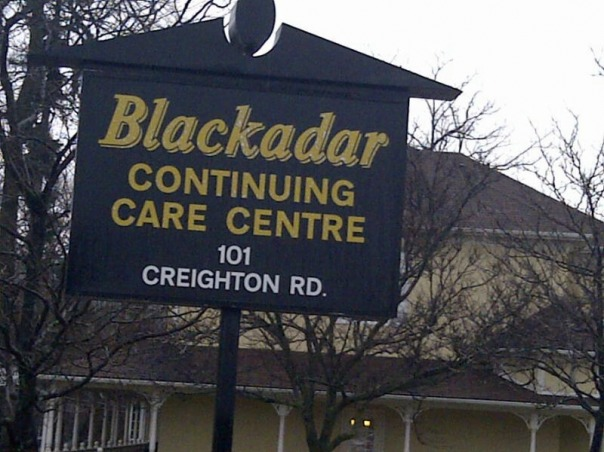 Blackadar Continuing Care Centre & Retirement Residence